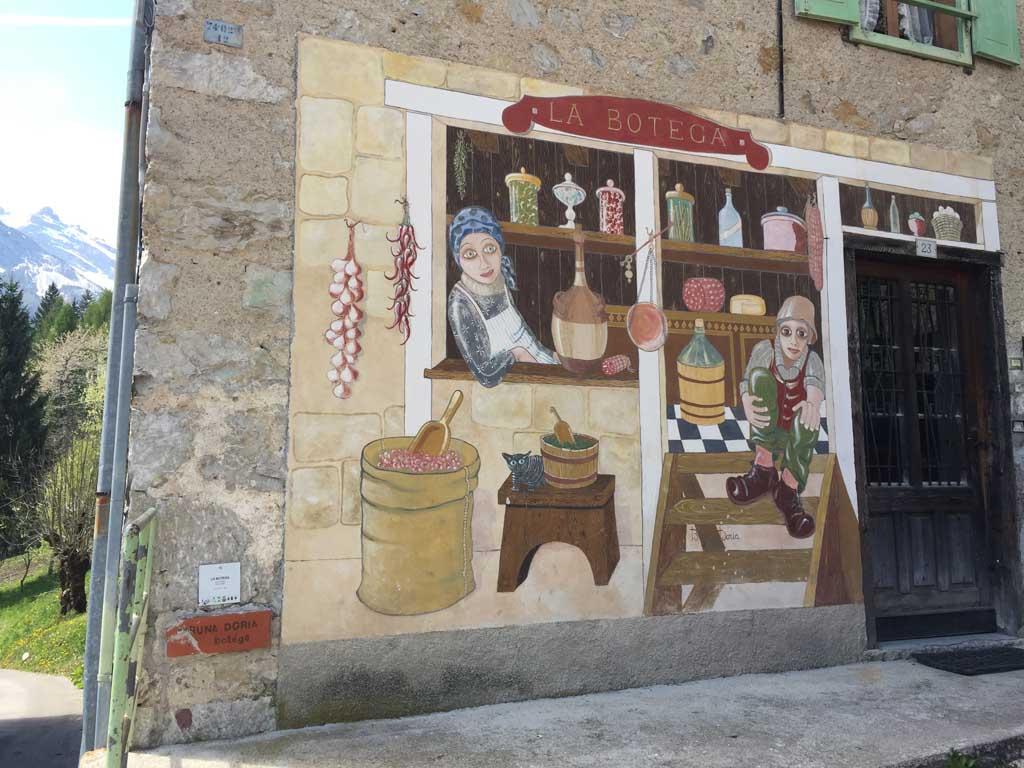 I Murales di Cibiana