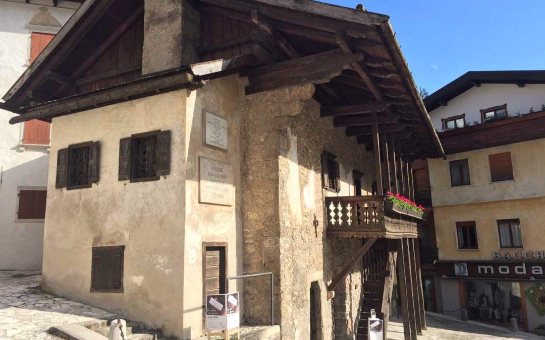 Casa del Tiziano a Pieve di Cadore