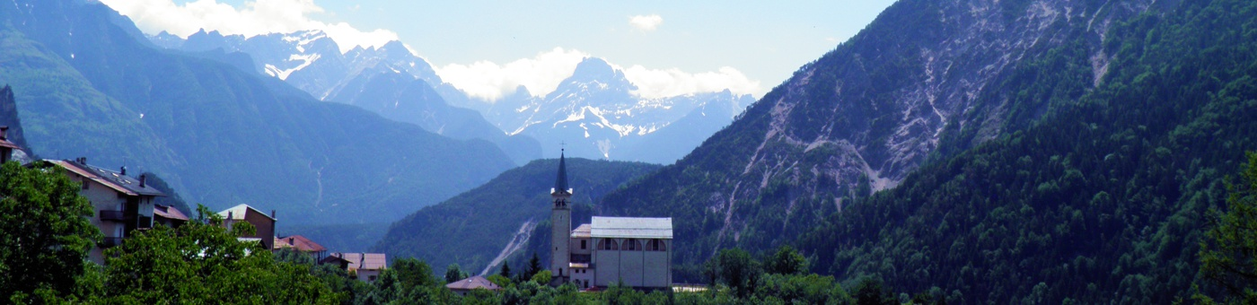 Valle di Cadore chiesa di S. Martino